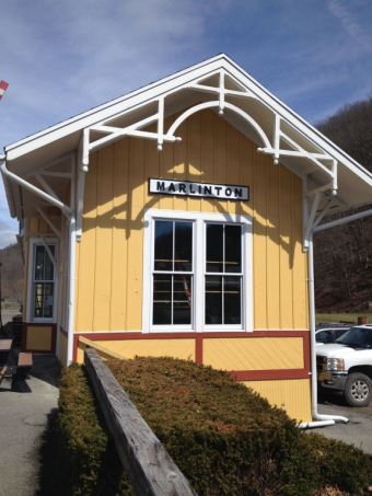 Now Located in the Historic Marlinton C&O Railroad Depot.